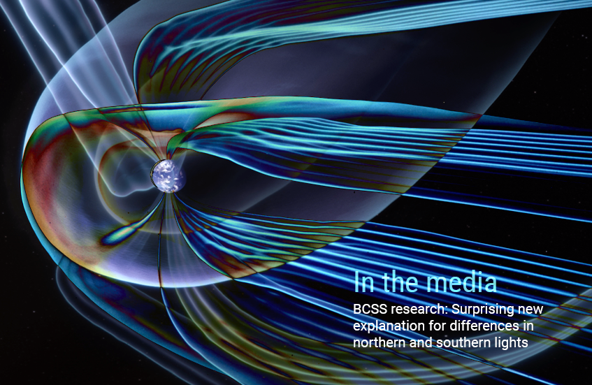 Media News about the Asymmetric Geospace